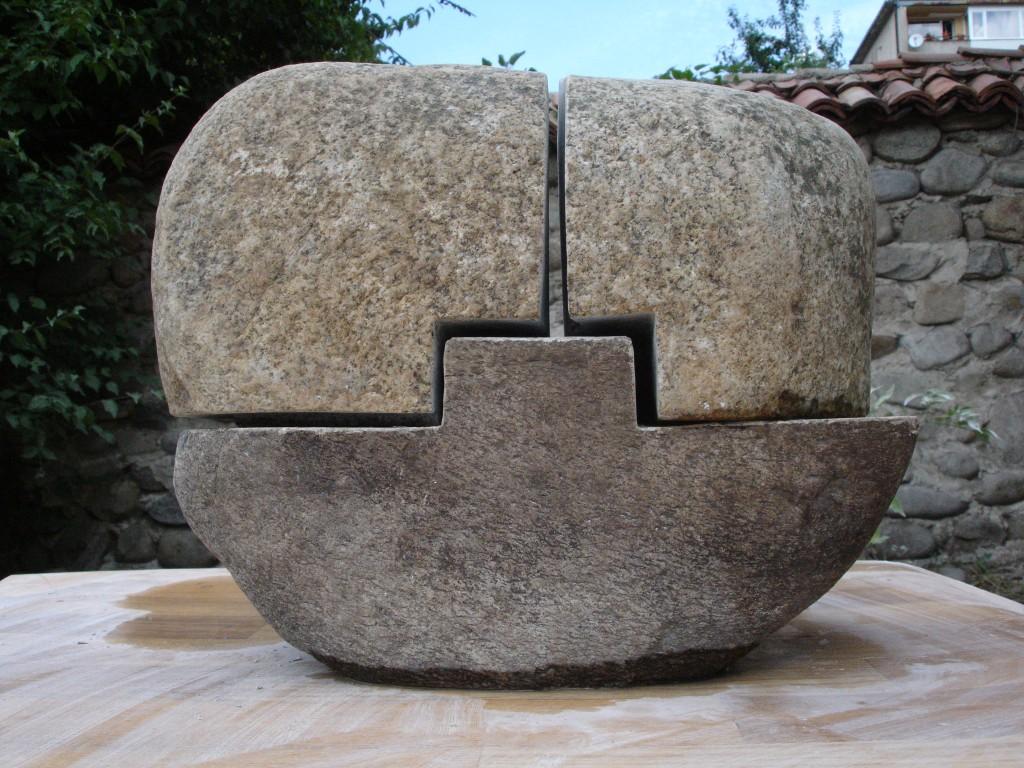 Красимир Митов, скулптура, камък